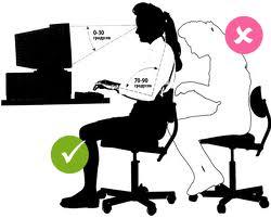 работы за компьютером