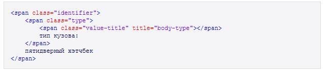 4 формата для микроразметки Яндекса