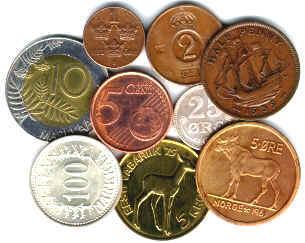Факты о монетах