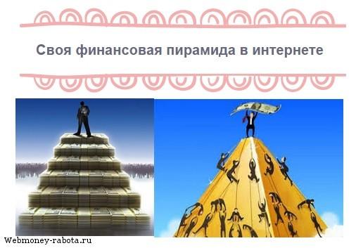 финансовая пирамида в интернете