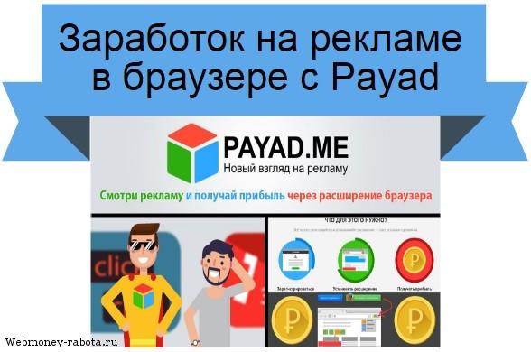 заработок на Payad