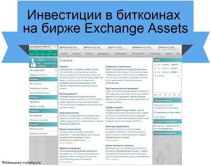 Exchange Assets обзор