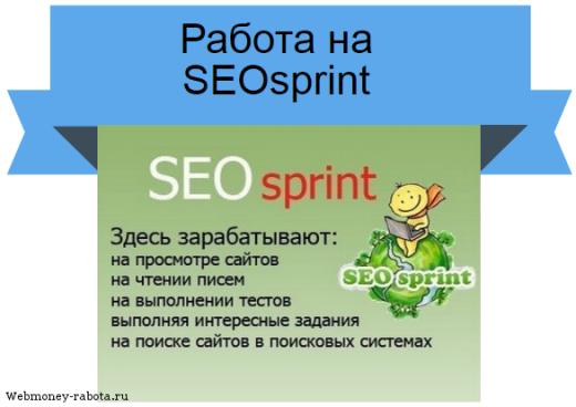 SEOsprint - инструкция по заработку денег