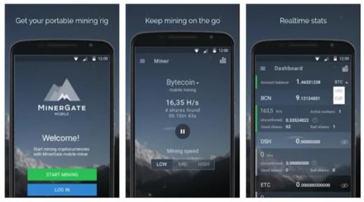 Майнинг криптовалюты на телефоне Андроид и IOS